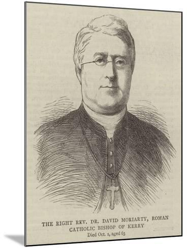 The Right Reverend Dr David Moriarty, Roman Catholic Bishop of Kerry--Mounted Giclee Print
