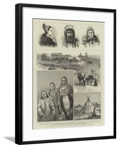 To Siberia by Sea, Notes During Captain Wiggins' Expedition--Framed Art Print