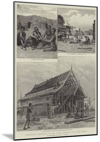 Missionary Enterprise on the Upper Zambesia, with the Barotsi--Mounted Giclee Print