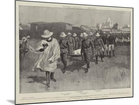 After Omdurman, the Funeral of the Honourable Hubert Howard--Mounted Giclee Print