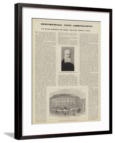 The British Workman's and General Assurance Company, Limited--Framed Art Print