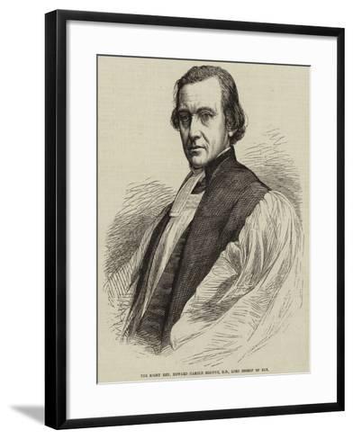 The Right Reverend Edward Harold Browne, Dd, Lord Bishop of Ely--Framed Art Print