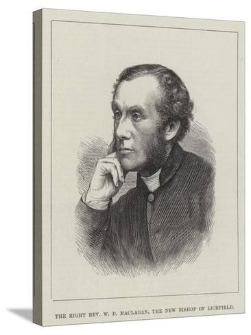 The Right Reverend W D Maclagan, the New Bishop of Lichfield--Stretched Canvas Print