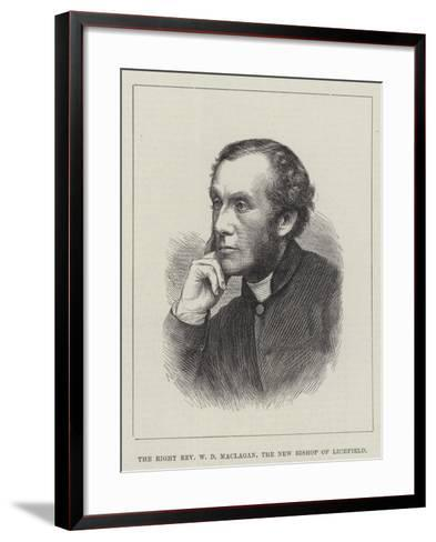 The Right Reverend W D Maclagan, the New Bishop of Lichfield--Framed Art Print
