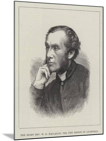 The Right Reverend W D Maclagan, the New Bishop of Lichfield--Mounted Giclee Print