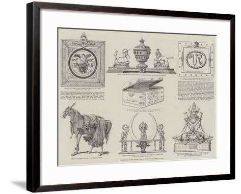 Exhibition of the Queen's Jubilee Gifts at St James's Palace--Framed Art Print
