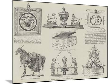 Exhibition of the Queen's Jubilee Gifts at St James's Palace--Mounted Giclee Print