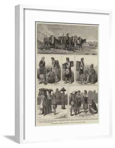 The Burmese Frontier Difficulty, Types of the Native Tribes--Framed Art Print