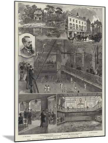The Polytechnic Young Men's Christian Institute, Regent Street--Mounted Giclee Print
