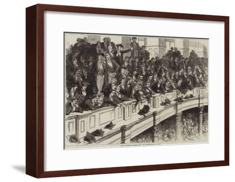 Oxford University Commemoration, the Undergraduates' Gallery--Framed Art Print