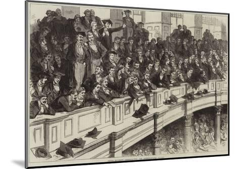 Oxford University Commemoration, the Undergraduates' Gallery--Mounted Giclee Print