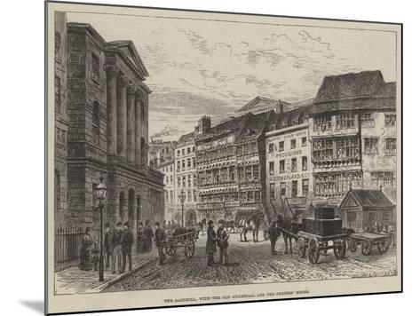 The Sandhill, with the Old Guildhall and the Surtees' House--Mounted Giclee Print