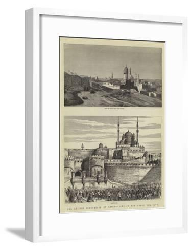 The British Occupation of Cairo, Views in and About the City--Framed Art Print