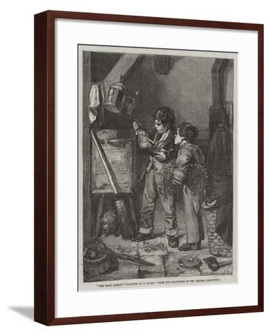 The Dead Rabbit, from the Exhibition of the British Institution--Framed Art Print