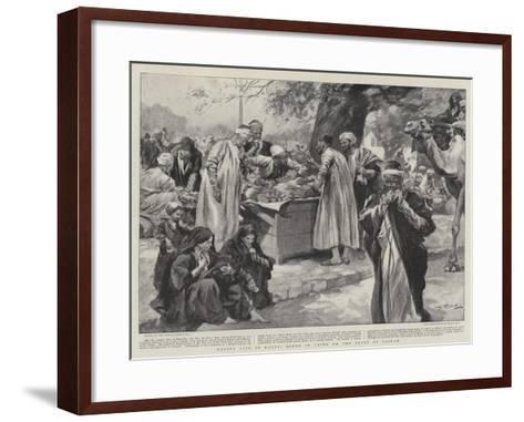 Native Life in Egypt, Scene in Cairo on the Feast of Bairam--Framed Art Print