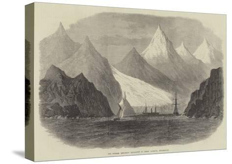 The Swedish Exploring Expedition at Green Harbour, Spitzbergen--Stretched Canvas Print