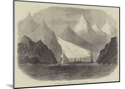 The Swedish Exploring Expedition at Green Harbour, Spitzbergen--Mounted Giclee Print