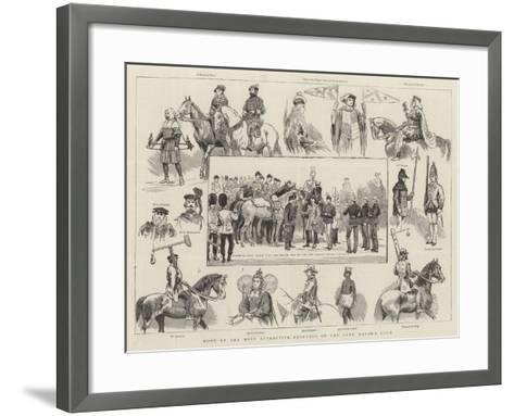 Some of the Most Attractive Features of the Lord Mayor's Show--Framed Art Print