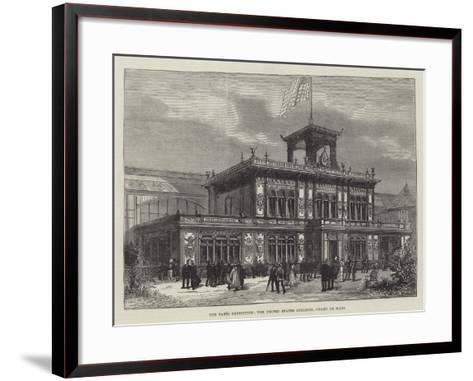 The Paris Exhibition, the United States Building, Champ De Mars--Framed Art Print