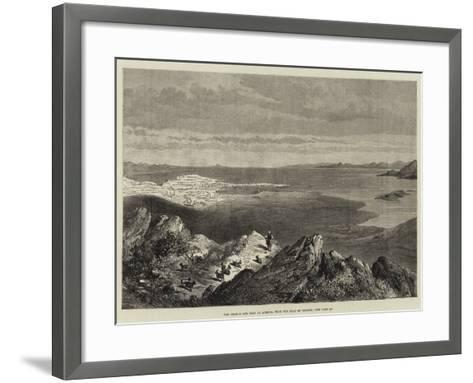 The Piraeus and Port of Athens, from the Seat of Xerxes--Framed Art Print