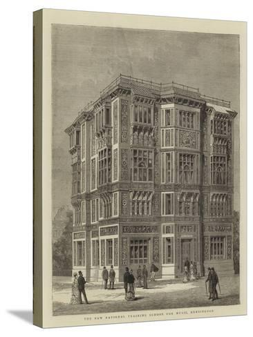 The New National Training School for Music, Kensington--Stretched Canvas Print