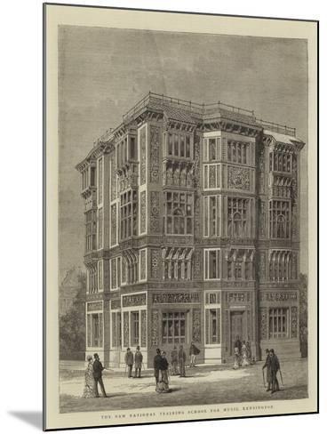 The New National Training School for Music, Kensington--Mounted Giclee Print