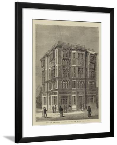 The New National Training School for Music, Kensington--Framed Art Print