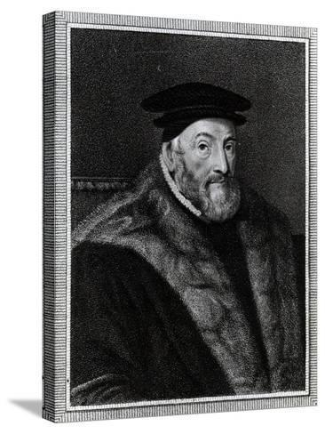 Thomas Audley, 1st Baron Audley of Walden (C.1488–1544)--Stretched Canvas Print