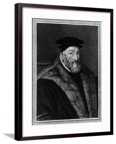 Thomas Audley, 1st Baron Audley of Walden (C.1488–1544)--Framed Art Print