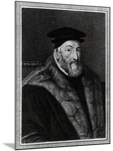 Thomas Audley, 1st Baron Audley of Walden (C.1488–1544)--Mounted Giclee Print