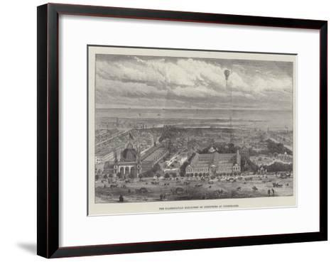 The Scandinavian Exhibition of Industries at Copenhagen--Framed Art Print