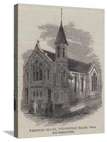 Wesleyan Chapel, Wednesfield Heath, Near Wolverhampton--Stretched Canvas Print