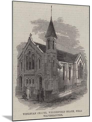Wesleyan Chapel, Wednesfield Heath, Near Wolverhampton--Mounted Giclee Print