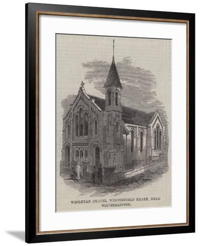 Wesleyan Chapel, Wednesfield Heath, Near Wolverhampton--Framed Art Print