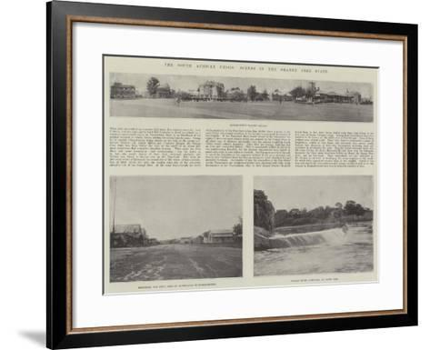 The South African Crisis, Scenes in the Orange Free State--Framed Art Print