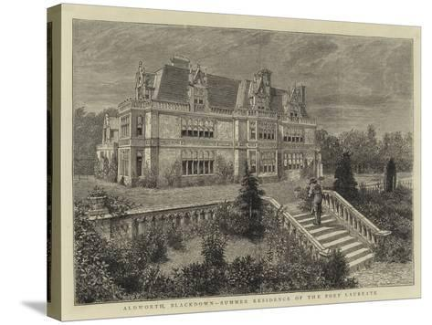Aldworth, Blackdown, Summer Residence of the Poet Laureate--Stretched Canvas Print