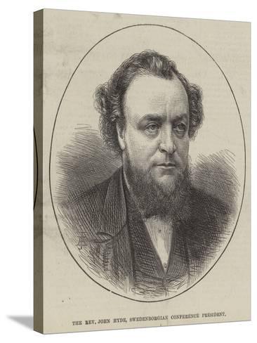 The Reverend John Hyde, Swedenborgian Conference President--Stretched Canvas Print