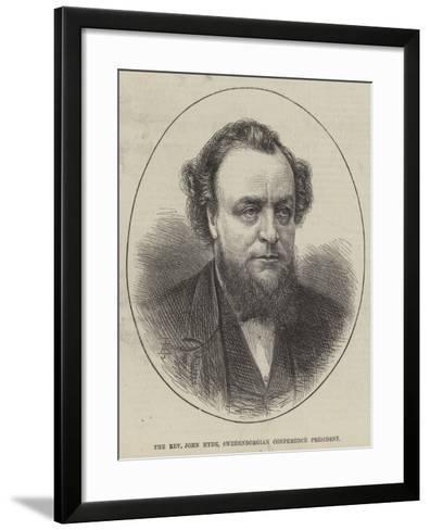 The Reverend John Hyde, Swedenborgian Conference President--Framed Art Print