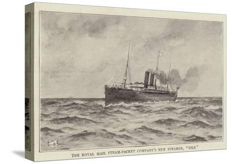 The Royal Mail Steam-Packet Company's New Steamer, Nile--Stretched Canvas Print