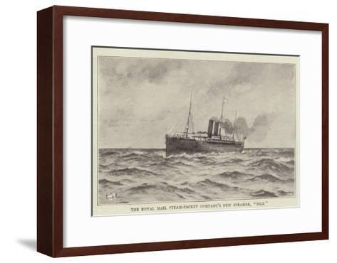 The Royal Mail Steam-Packet Company's New Steamer, Nile--Framed Art Print