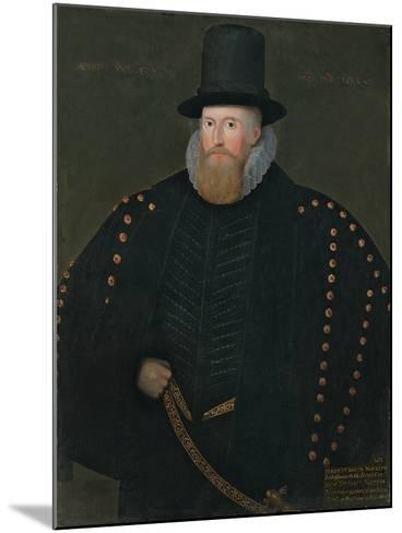 Portrait of Henry, 1st Baron Norris, of Rycote, 1585--Mounted Giclee Print