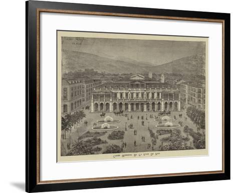 Advertisement, Casino Municipal De La Ville De Nice--Framed Art Print