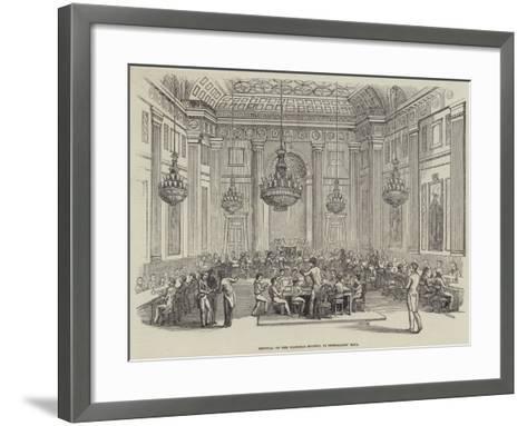 Festival of the Madrigal Society, in Freemasons' Hall--Framed Art Print