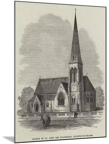 Church of St John the Evangelist, Kingston-On-Thames--Mounted Giclee Print