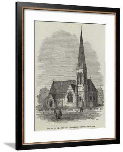 Church of St John the Evangelist, Kingston-On-Thames--Framed Art Print