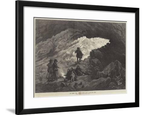 The Modoc War, Captain Jack's Cave in the Lava Beds--Framed Art Print