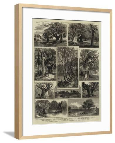 The Dedication of Burnham Beeches to the Public Use--Framed Art Print