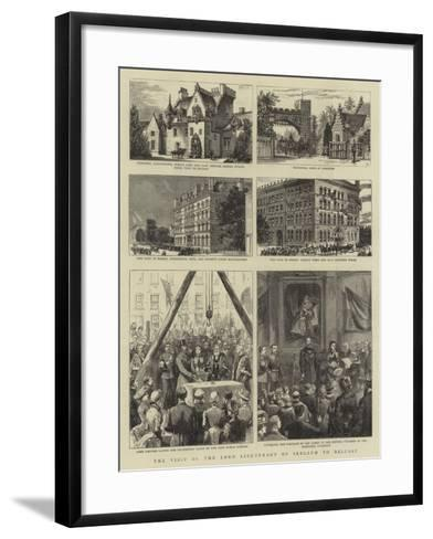The Visit of the Lord Lieutenant of Ireland to Belfast--Framed Art Print