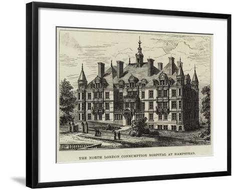 The North London Consumption Hospital at Hampstead--Framed Art Print