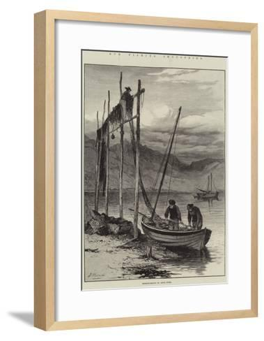 Our Fishing Industries, Herring-Boats on Loch Fyne--Framed Art Print